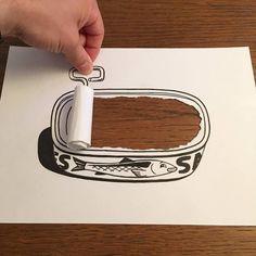 Une nouvelle sélection des créations de l'illustrateur danois HuskMitNavn, basé à Copenhague, qui s'est donné comme contrainte de n'utiliser qu'une simp