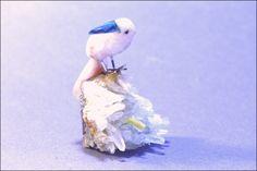 Oiseau pierre semi-précieuse 7