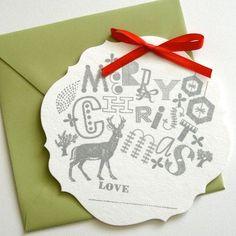 [ fun + Christmas + #design + typography + illustration ] #holidaycards