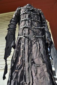 he Goblin SceneSick Stage Wear Ceremonial Robe Horror Costume Fantasy Black Metal Rock Cosplay Wardrobe Hood Nightmare Apocalypse Fashion, Post Apocalypse, Voodoo Priestess Costume, Steampunk Witch, Horror Costume, Personal Image, Goblin, Costume Design, Clubwear