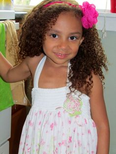 Want to know why this little Mixed Chick cannot live without Mixed Chicks hair care?