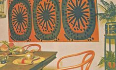 vintage home decorating, 1970s, accessories