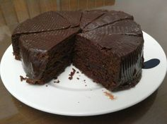 Bizcochuelo casero de chocolate