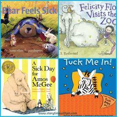 Storytime Program: Bear Feels Sick