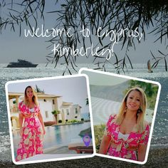 Kimberley Walsh is in Cyprus for ITV's February competition... Recognise the location?