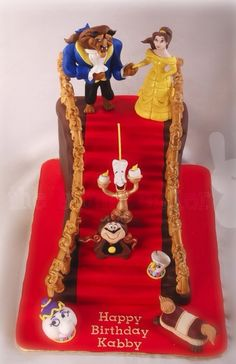 Pin Spectacular Beauty And The Beast Cake Cake on Pinterest