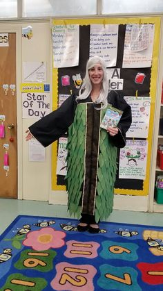 """Morgan leFay costume from the Magic Tree House series. """"Pirates Past Noon"""" Dress as your favorite book character! Made from an old graduation gown."""