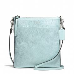 Coach :: BLEECKER NORTH/SOUTH SWINGPACK IN PEBBLED LEATHER - everyone on my team can earn this bag in JUNE