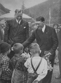 adolf hitler kids / ironic him being a great lover of children and all !!!!!!