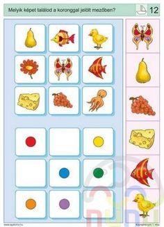 Free Preschool, Preschool Worksheets, Preschool Activities, File Folder Activities, Book Activities, Educational Games For Kids, Kids Learning, Visual Perception Activities, Sequencing Cards