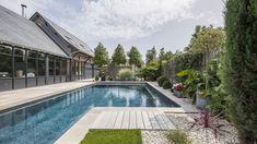 le couloir de nage par l esprit piscine 15 x 3 5 m fond plat de 1 40 m photo fred pieau. Black Bedroom Furniture Sets. Home Design Ideas