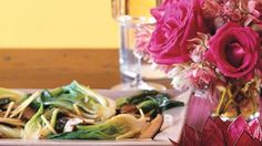 Baby Bok Choy with Braised Shiitake Sauce - Bon Appétit Miso Recipe, Mushroom Soy Sauce, Asian Vegetables, Sauce Recipes, Bon Appetit, Seafood, Healthy Recipes, Healthy Foods, Cabbage