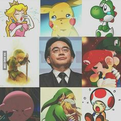 Thank you Satoru Iwata . You made are world a joyful place . you will be missed.Rest in peace.