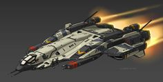 Space Resident by on DeviantArt Space Ship Concept Art, Concept Ships, Weapon Concept Art, Spaceship Art, Spaceship Design, Star Citizen, Science Fiction, Starship Concept, Sci Fi Spaceships
