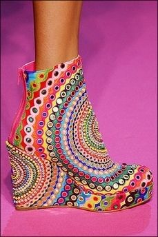 Funky #Shoes by Manish Arora www.manisharora.ws/