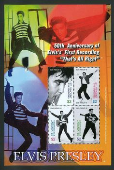 Mouse over image to zoom Elvis Presley RARE Collectible Postage Stamp St Vincent