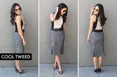 10 Ways to Style a Basic Beige Dress via Brit + Co.