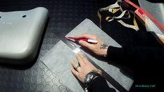 O - BAG: REALIZZARE IL CARTAMODELLO DEL BORDO O Bag Mini, Simple Bags, Easy Bag, Sewing Patterns Free, Free Sewing, Dory, E Design, Handbags, Oclock
