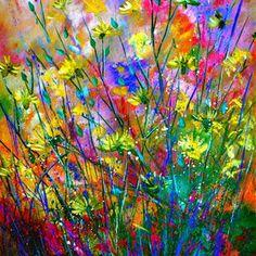 дикие цветы           Pol Ledent Belgium