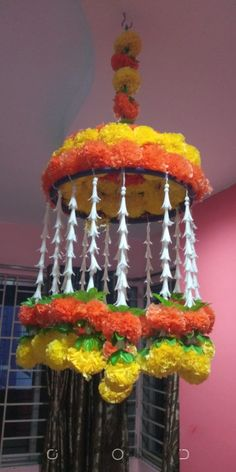 Door Hanging Decorations, Diwali Decorations At Home, Fruit Decorations, Stage Decorations, Festival Decorations, Diwali Diya, Diwali Craft, Diy Crafts For Home Decor, Diy Craft Projects