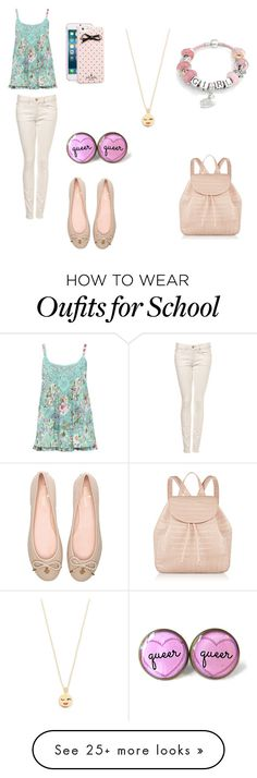 """""""Time for school"""" by bibijag on Polyvore featuring M&Co, Kate Spade, Nancy Gonzalez and Bling Jewelry"""