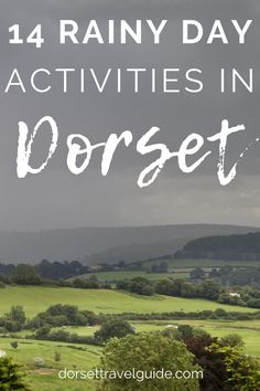 Don't just stay indoors all day when the weather goes bad! Check out my guide to the best things to doin Dorset in the rain and get out exploring!! #dorset #england Stuff To Do, Things To Do, Good Things, Rainy Day Activities, Getting Out, About Me Blog, England, Explore, British