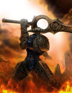 That sword tho. Sven