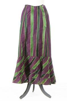 ca 1910 Suffragette petticoat Edwardian Era, Edwardian Fashion, Vintage Fashion, Suffragette Jewellery, Suffragette Colours, Historical Costume, Historical Dress, Brave Women, Women In History
