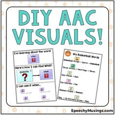 AAC materials are incredibly hard to find online, primarily (I think) because the graphics in systems are diverse and copyrighted. In order to have AAC visuals and materials for your caseload, thin…