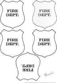 firefighter hat template preschool - shape fire truck craft template google search toddler