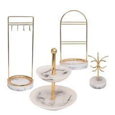 Divine Jewelry Rack – Still Serenity Jewelry Rack, Jewelry Holder, Jewellery Storage, Jewelry Organization, Jewellery Display, Jewelry Accessories, Marble Tray, Gold Marble, Big Tray