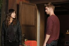 'Daisy Johnson' and 'Lincoln Campbell' on 'Marvel's: Agents of S. Lincoln Agents Of Shield, Agents Of Shield Daisy, Marvels Agents Of Shield, Spiderman 1, Amazing Spiderman, Marvel Girls, Marvel Dc, Lincoln Campbell, Luke Mitchell