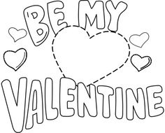 Valentine Coloring Page Bee Mine - Valentine Coloring pages of ...