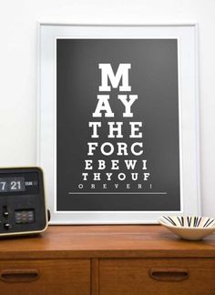 For Star Wars bedroom - I know this is supposed to be for kids, but my husband would go nuts for this!