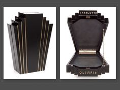 CHARLOTTE OLYMPIA - Art Deco Box Clutch