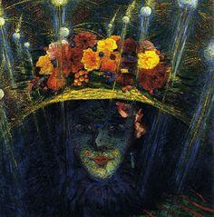 Umberto Boccioni (Italian, 1882-1916), The Modern Idol, 1911. Oil on wood, 59.7 x 58.4 cm.