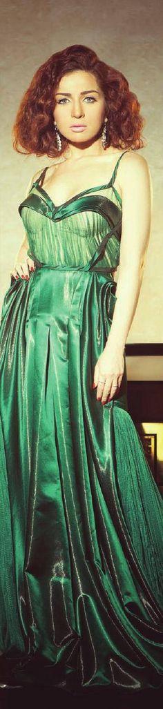 Mai ezz eldin Arab Celebrities, Celebs, Egyptian Beauty, Shades Of Green, Celebrities, Celebrity