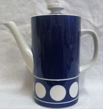 1960's Vintage TG Green Judith Onions 'Jersey Blue' Coffee Pot