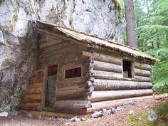 Rock Cabin in Skagit County, Washington.