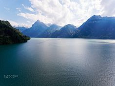"""Vierwaldstättersee, Switzerland from above - Aerial shot of Vierwaldstättersee, Switzerland.  Image available for licensing.  Order prints of my images online, shipping worldwide via  <a href=""""http://www.pixopolitan.net/photographers/oberschneider-christoph-a6030.html"""">Pixopolitan</a> See more of my work here:  <a href=""""http://www.oberschneider.com"""">www.oberschneider.com</a>  Facebook: <a href=""""http://www.facebook.com/Christoph.Oberschneider.Photography"""">Christoph Oberschneider…"""