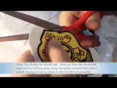 How to make your own embroidered patches - cheap and easy DIY badges - YouTube