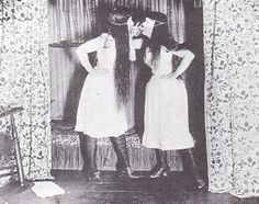 Alice Austen - trude and i - Masked, Short, Skirt -  1891