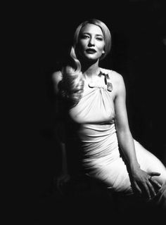 Cate Blanchett. Love her. She is fun, yet sophisticated. And the perfect Galadriel.