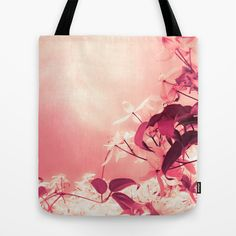 Sky Vine Tote Bag by Kim Rose Adams - $22.00