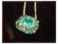 Mozambique tourmaline and Paraiba necklace from Sutra