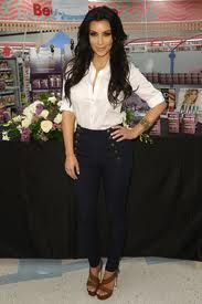 Love the high-waisted pants on Kim Kardash    http://pinterest.com/treypeezy  http://twitter.com/TreyPeezy  http://instagram.com/OceanviewBLVD  http://OceanviewBLVD.com