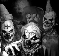 Creepy clowns                                                       …