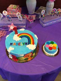 BabyFirst TV birthday cake and smash cake