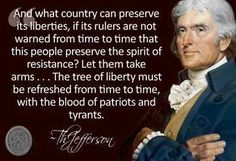 """And what country can preserve its liberties..."" - Thomas Jefferson [361x247]"