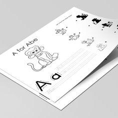Øvelse i at skrive alle alfabetets bogstaver.Her gennemgås bogstavernes skriveretning og giver barnet mulighed for at øve sig i at skrive og lære nye ord.  Undervejs er der sjove opgaver, som kan løses alene eller sammen med en voksen, samt masser af muligheder for farvelægning. Alene, Barnet, Printer, Cards, Velvet, Printers, Maps, Playing Cards, Barnet F.c.